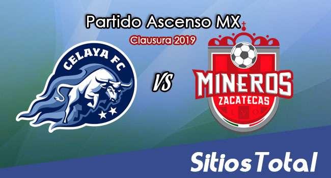 Ver Celaya vs Mineros de Zacatecas en Vivo – Ascenso MX en su Torneo de Clausura 2019