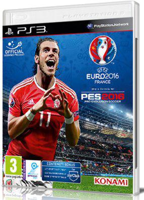 [PS3] Pro Evolution Soccer 2016: UEFA EURO 2016 France (2016) - FULL ITA