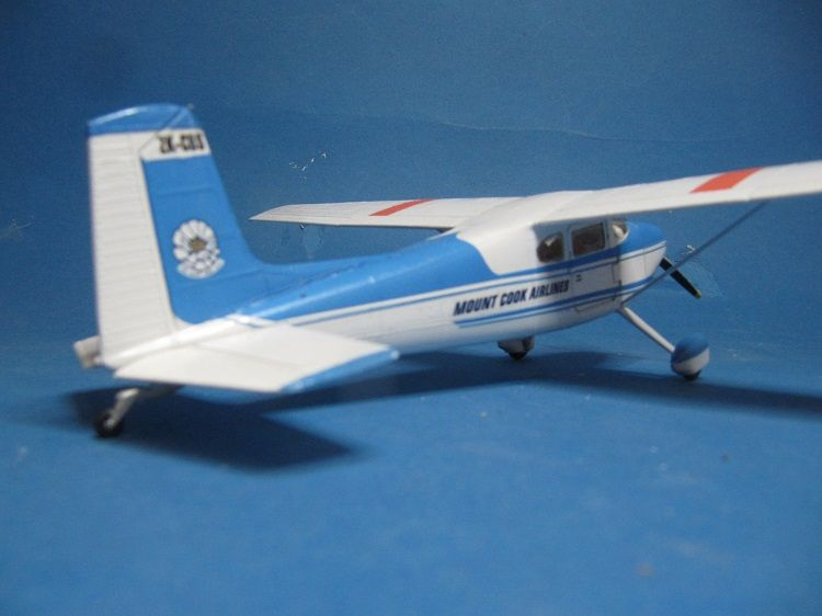 Cessna 180 1/41st scale Mount Cook Airlines  - Ready for