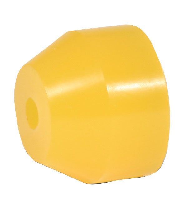 "3-3/8"" O/D. Yellow 75 Durometer Bushing Two Stage Torque Link"