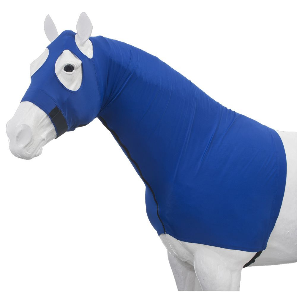 Tough-1 100% Spandex Full Mane Stay Hood with Full Spandex Zipper and No Center Seam 792c4b