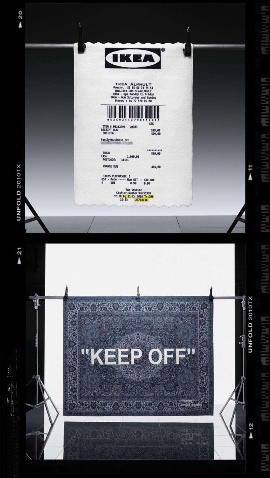 Virgil Abloh x IKEA MARKERAD