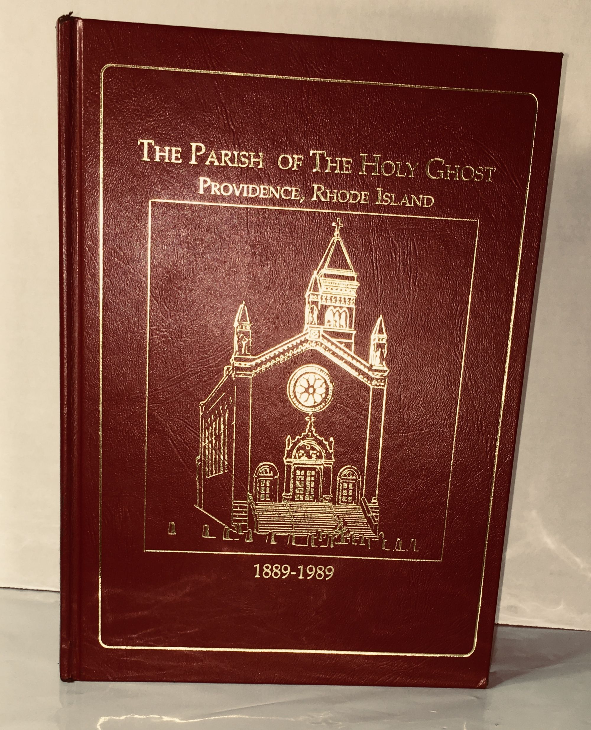 Parish of the Holy Ghost Providence, Rhode Island 1889-1989 Centennial History, Church Staff [Josephine Baccari]