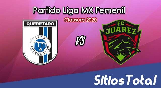 Ver Querétaro vs FC Juarez en Vivo – Liga MX Femenil – Clausura 2020 – Viernes 17 de Enero del 2020