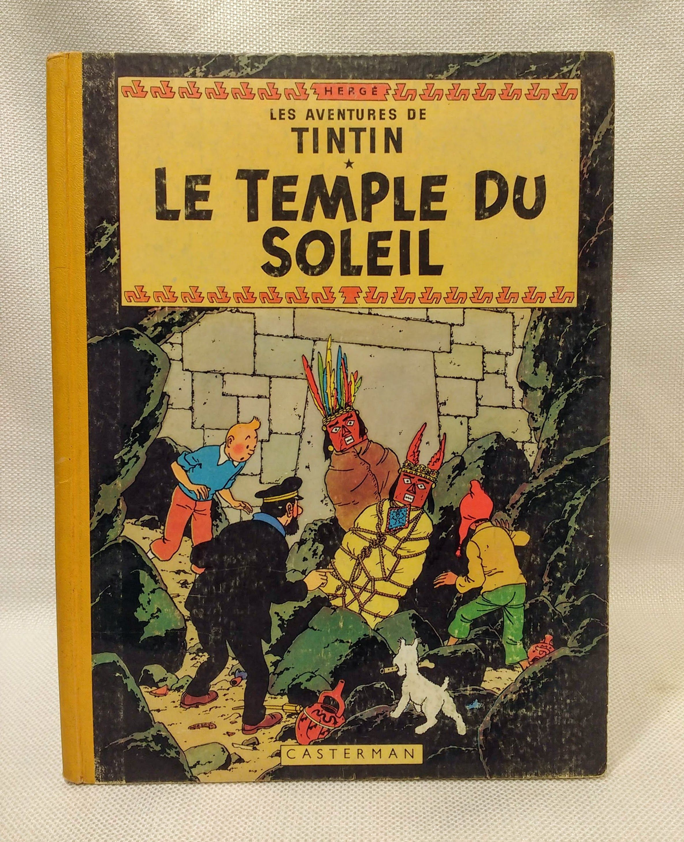 Les Aventures de Tintin: Le Temple Du Soleil - Tome 14 (Adventures of Tintin) (French Edition), Herge