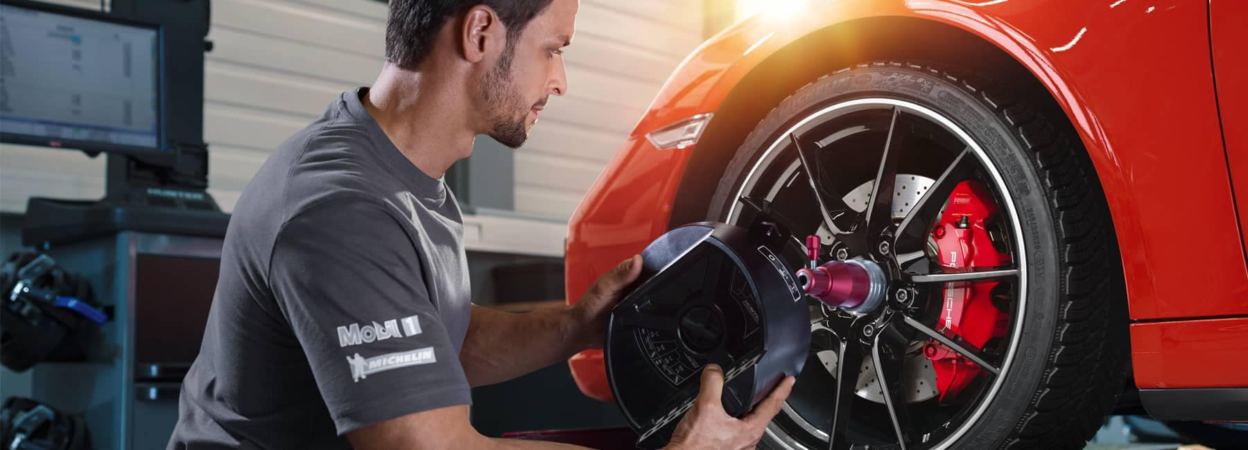 Porsche Tire Maintenance