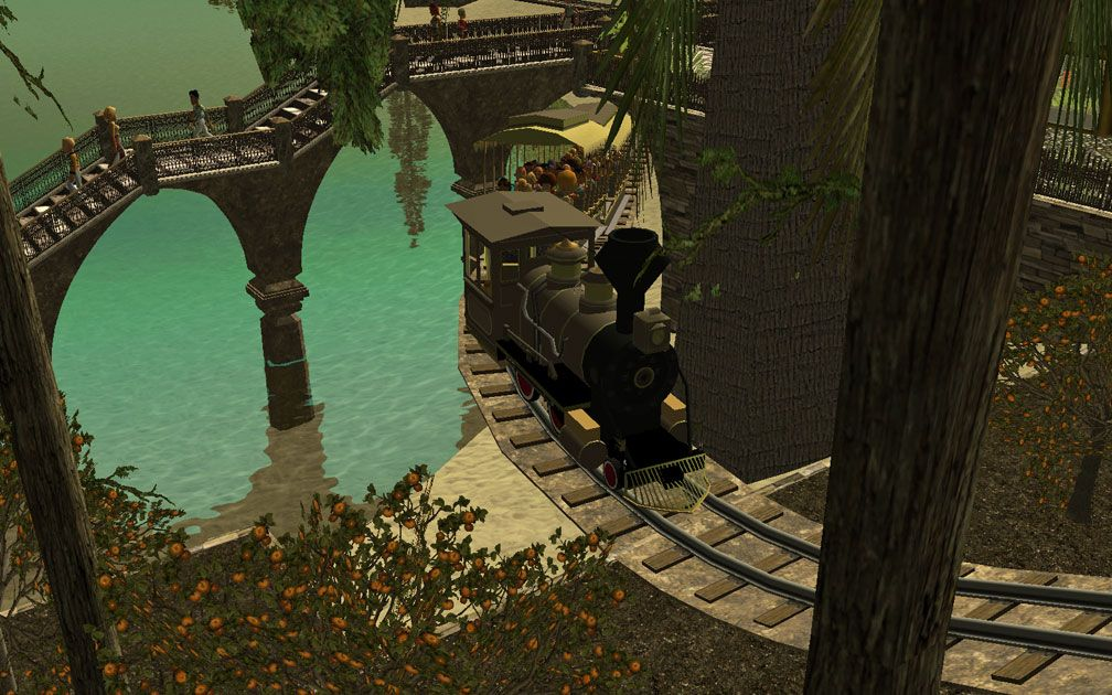 My Projects - CSO's I Have Imported, CFR and CTR CSO's - Steam Engine Railway Track Beds, B, Image 09