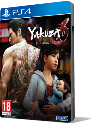 [PS4] Yakuza 6: The Song of Life (2018) - JAP SUB ENG