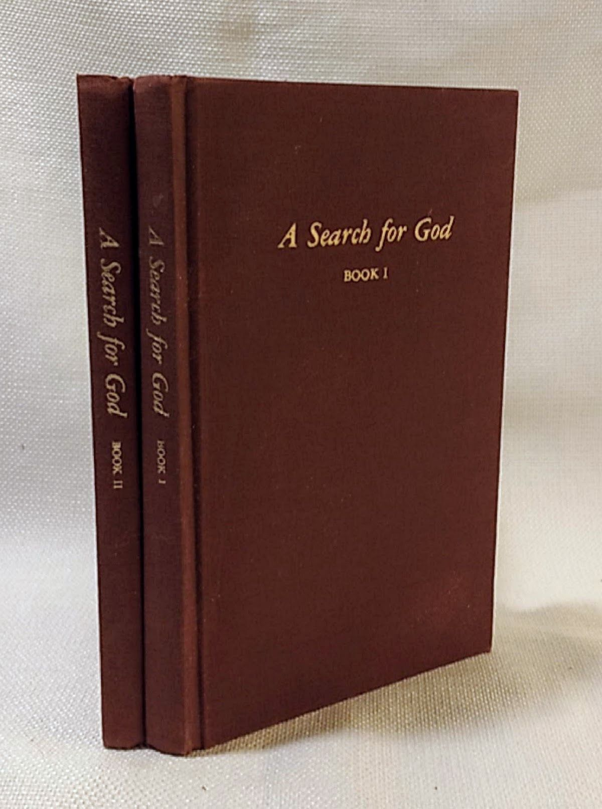Two Volume Set of Edgar Cayce's A Search for God: Book I & Book II, Association for Research and Enlightenment [Editor]