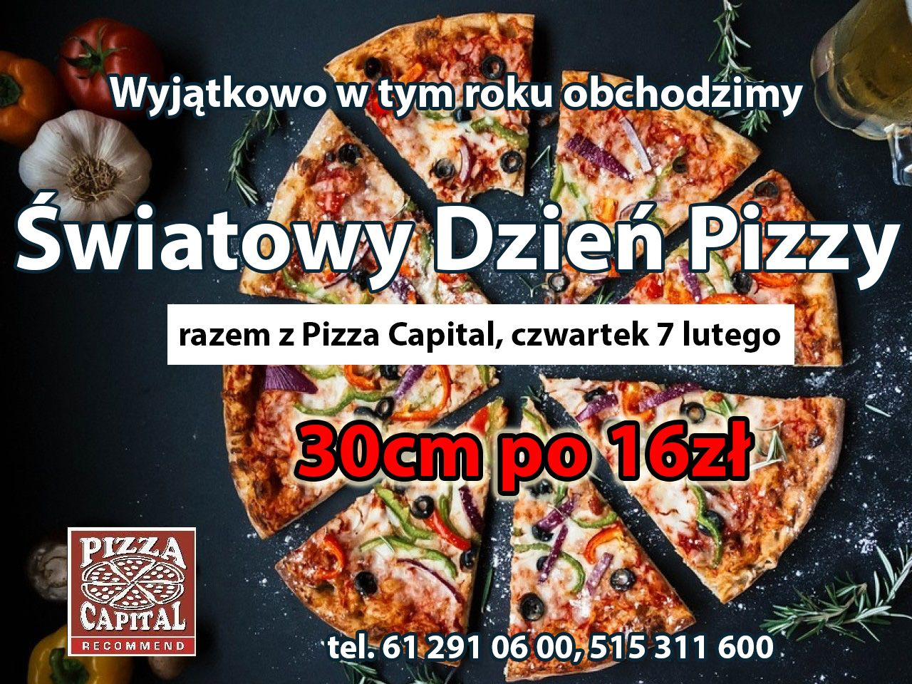Pizza Capital świętuje już jutro