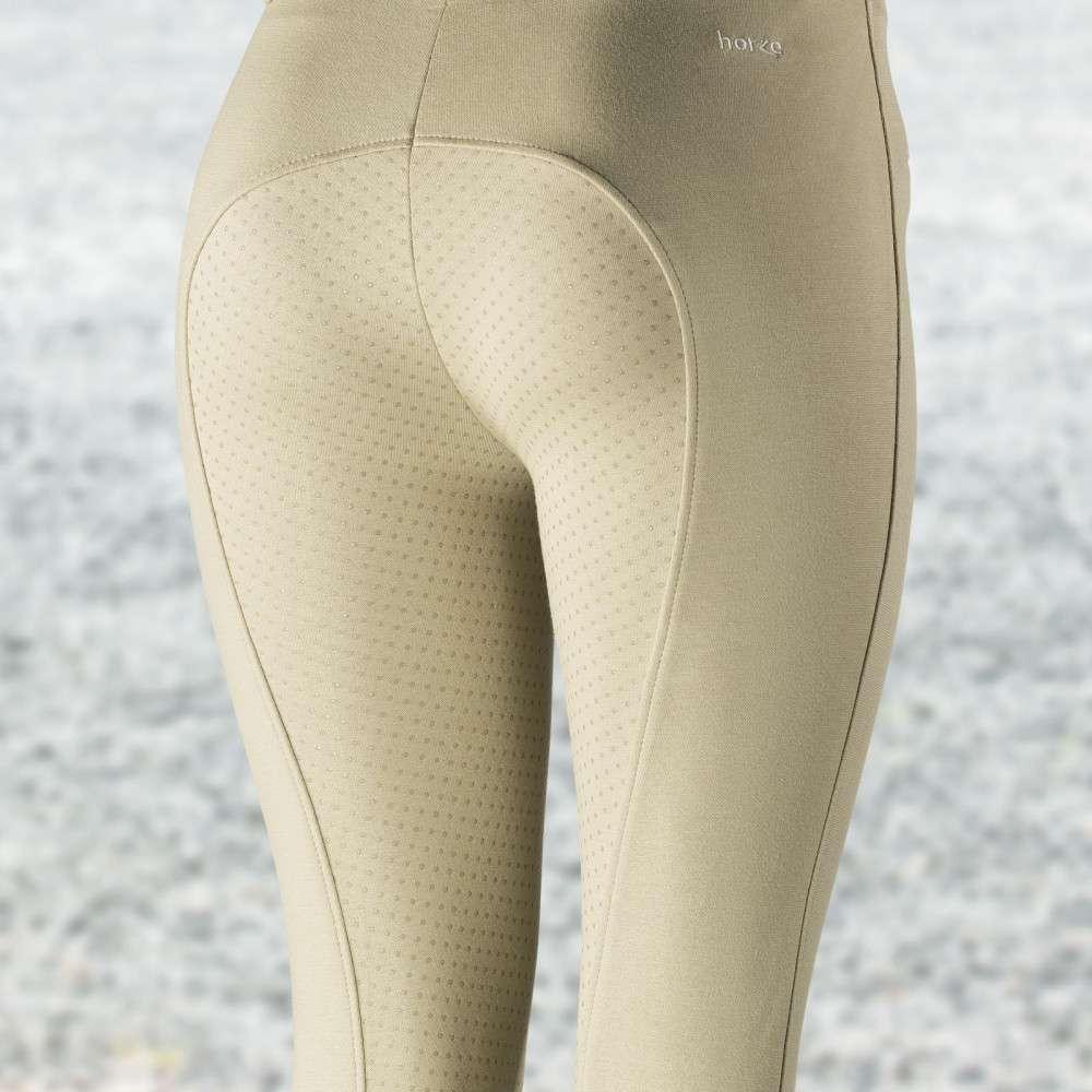 Horze-Women-039-s-Active-Silicone-Grip-Full-Seat-Riding-Breeches-Elastic-Leg-Bottoms thumbnail 5
