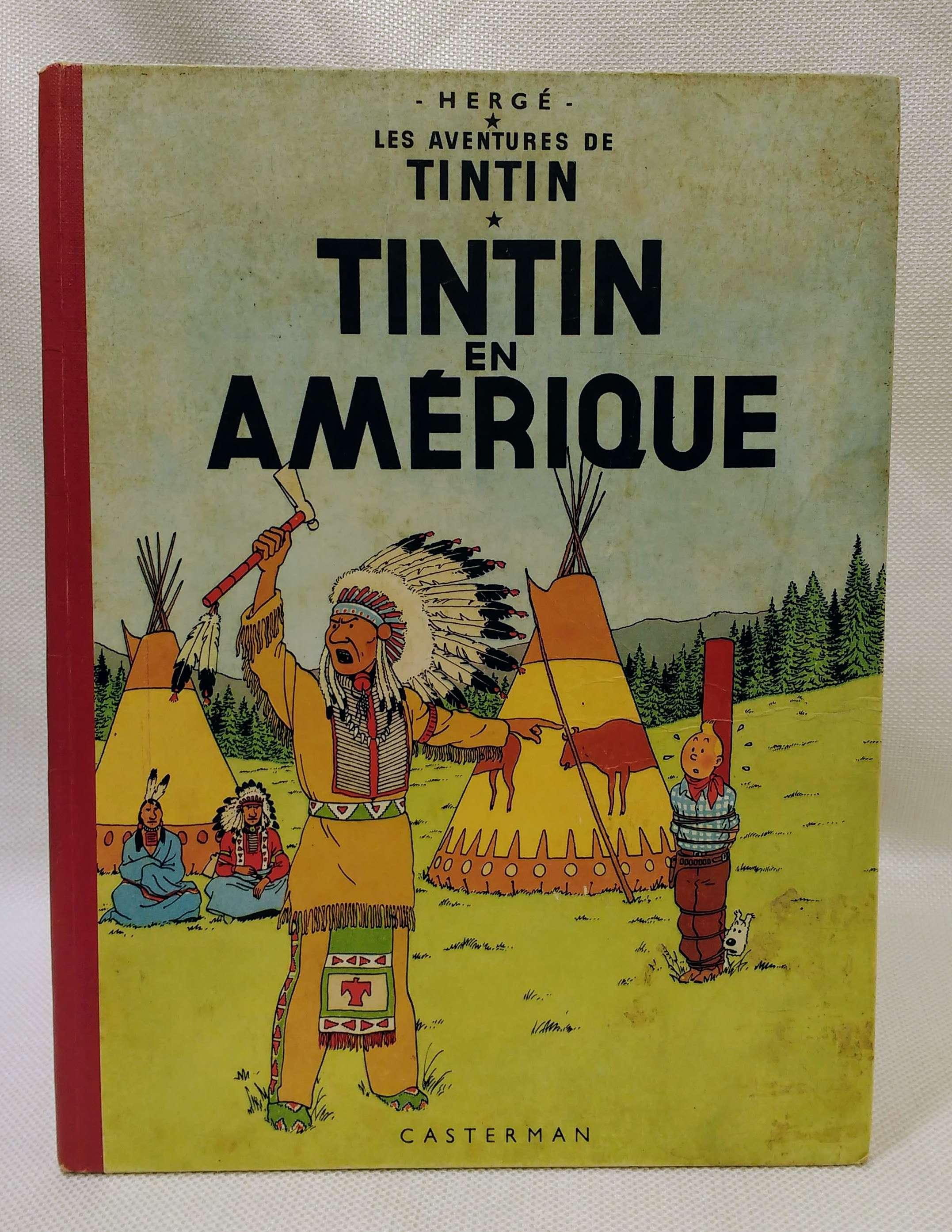 Les Aventures de Tintin: Tintin en Amerique (French Edition of Tintin in America), Herge