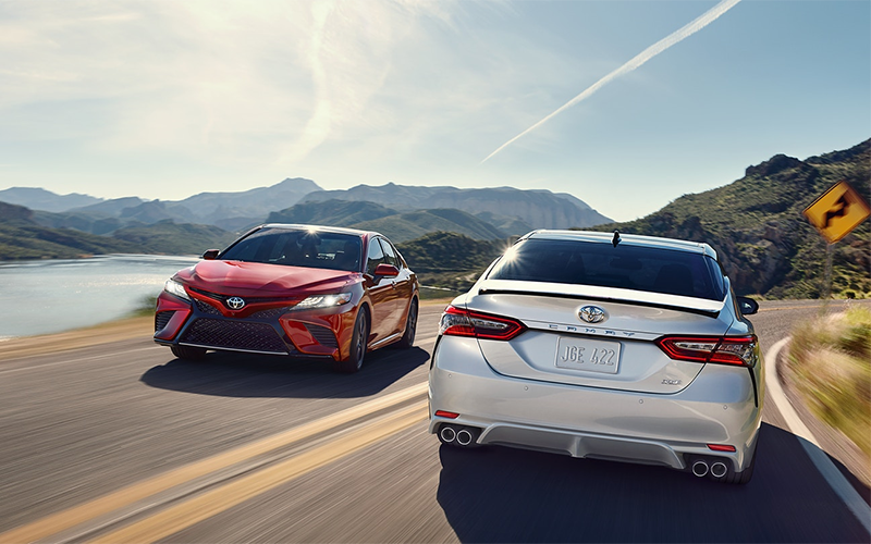2018 Toyota Camry Exterior Styling