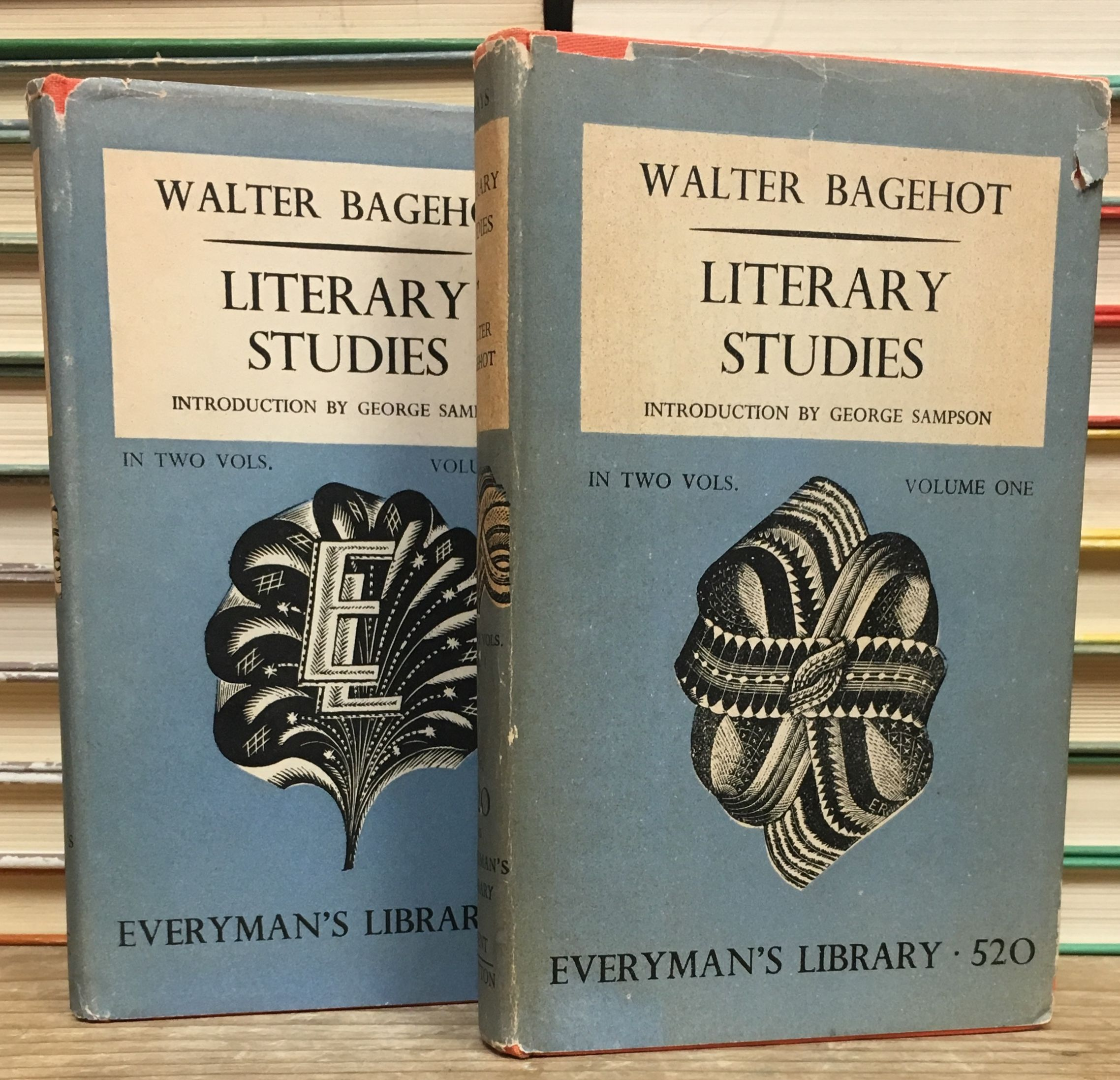 Literary Studies: Volume 1 and 2., Bagehot, Walter