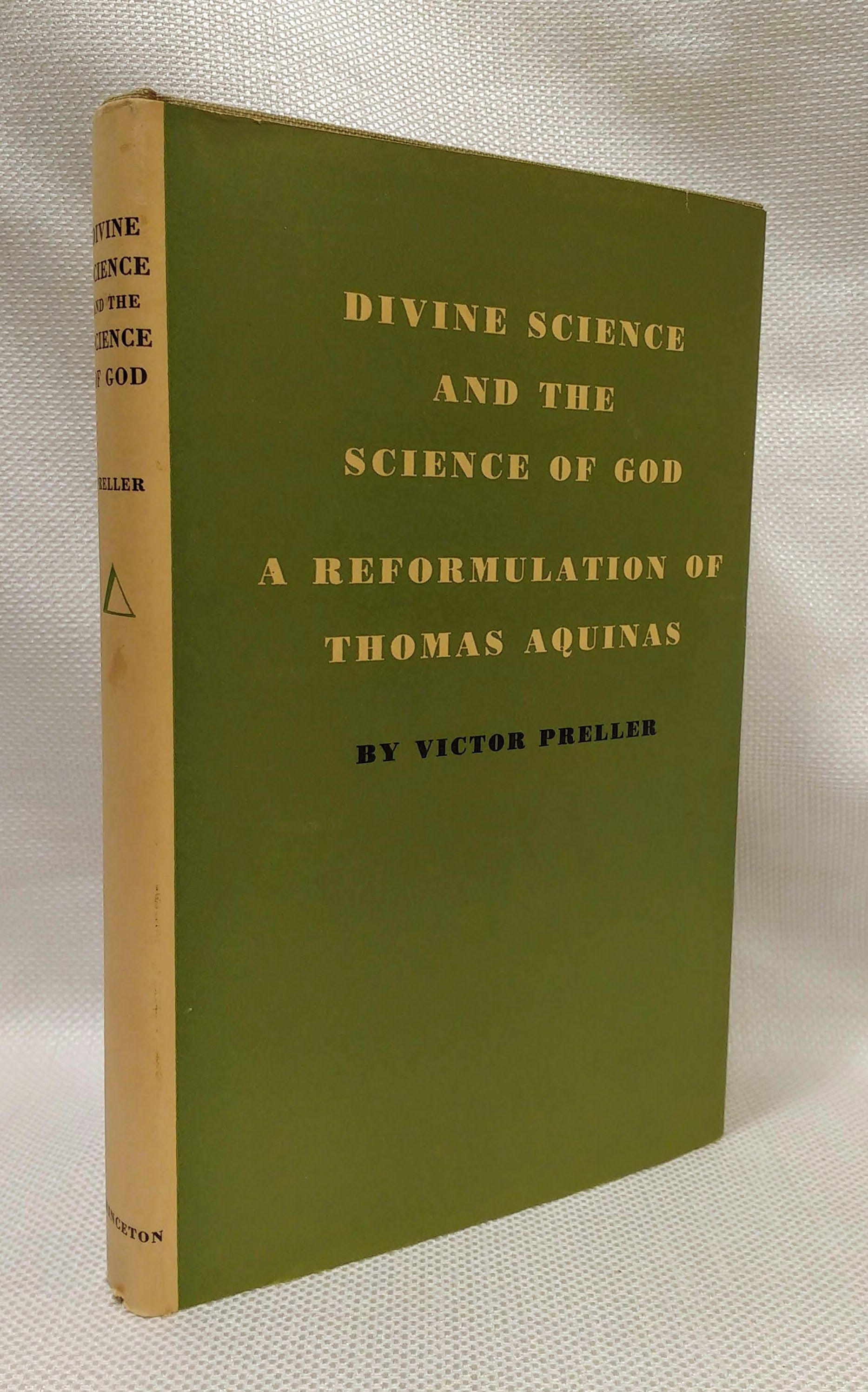 Divine Science and the Science of God, Preller, Victor