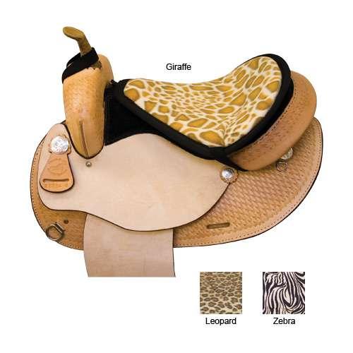 Spartan Fleece Saddle Cover Animal Print: Abetta Polar Fleece Seat Saver In Exotic Animal Print With