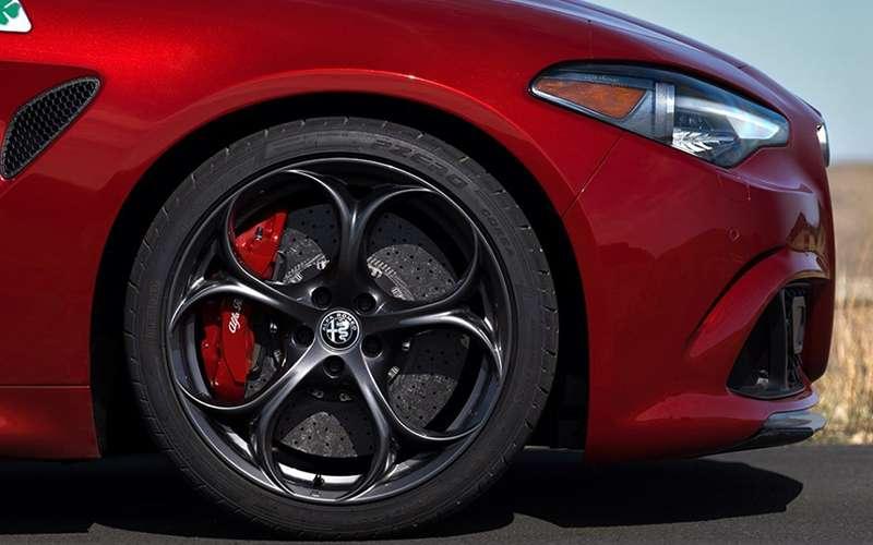 Alfa Romeo Giulia Quadrifoglio Brembo Brakes