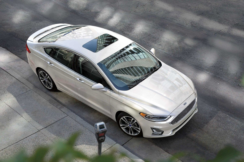 2019 Ford Fusion Anium