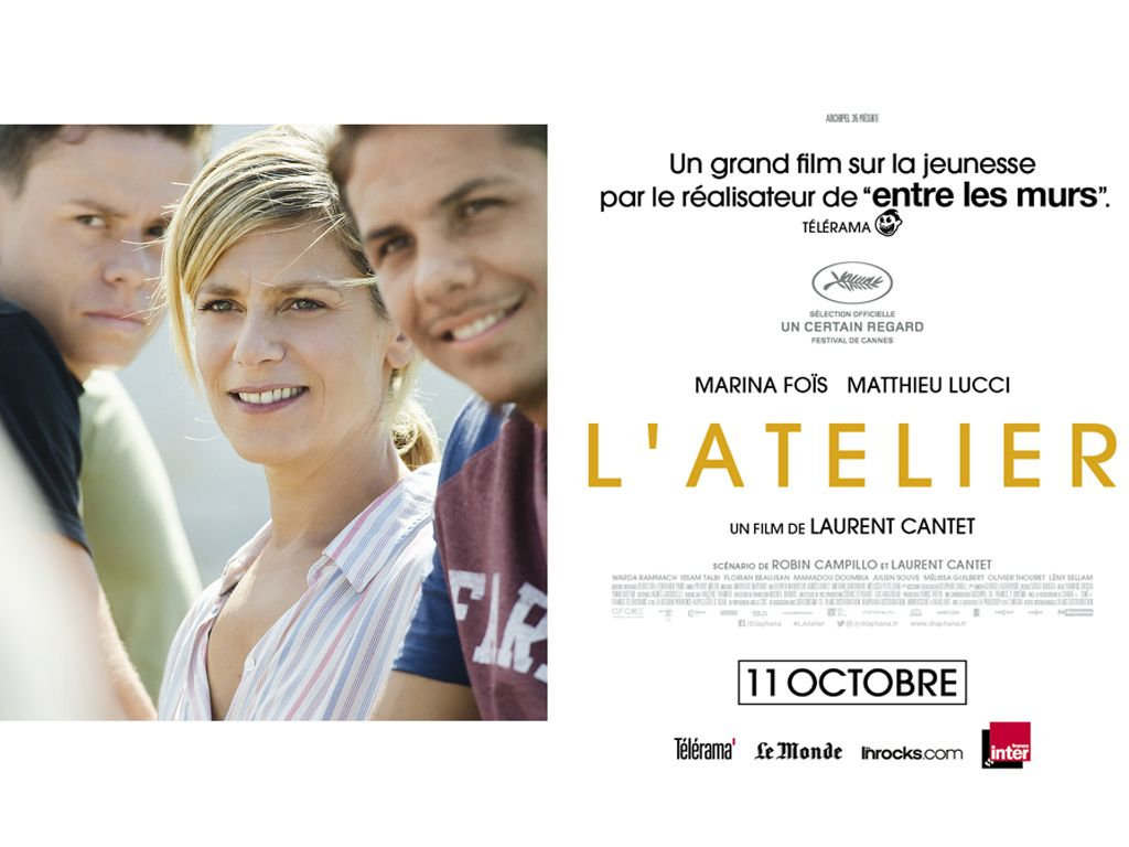Το Ατελιέ (L' Atelier) Poster Πόστερ Wallpaper