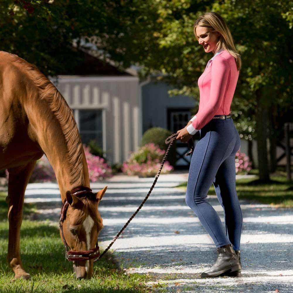 Horze-Women-039-s-Active-Silicone-Grip-Full-Seat-Riding-Breeches-Elastic-Leg-Bottoms thumbnail 27