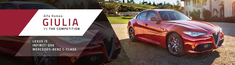 2018 Alfa Romeo Giulia Comparison