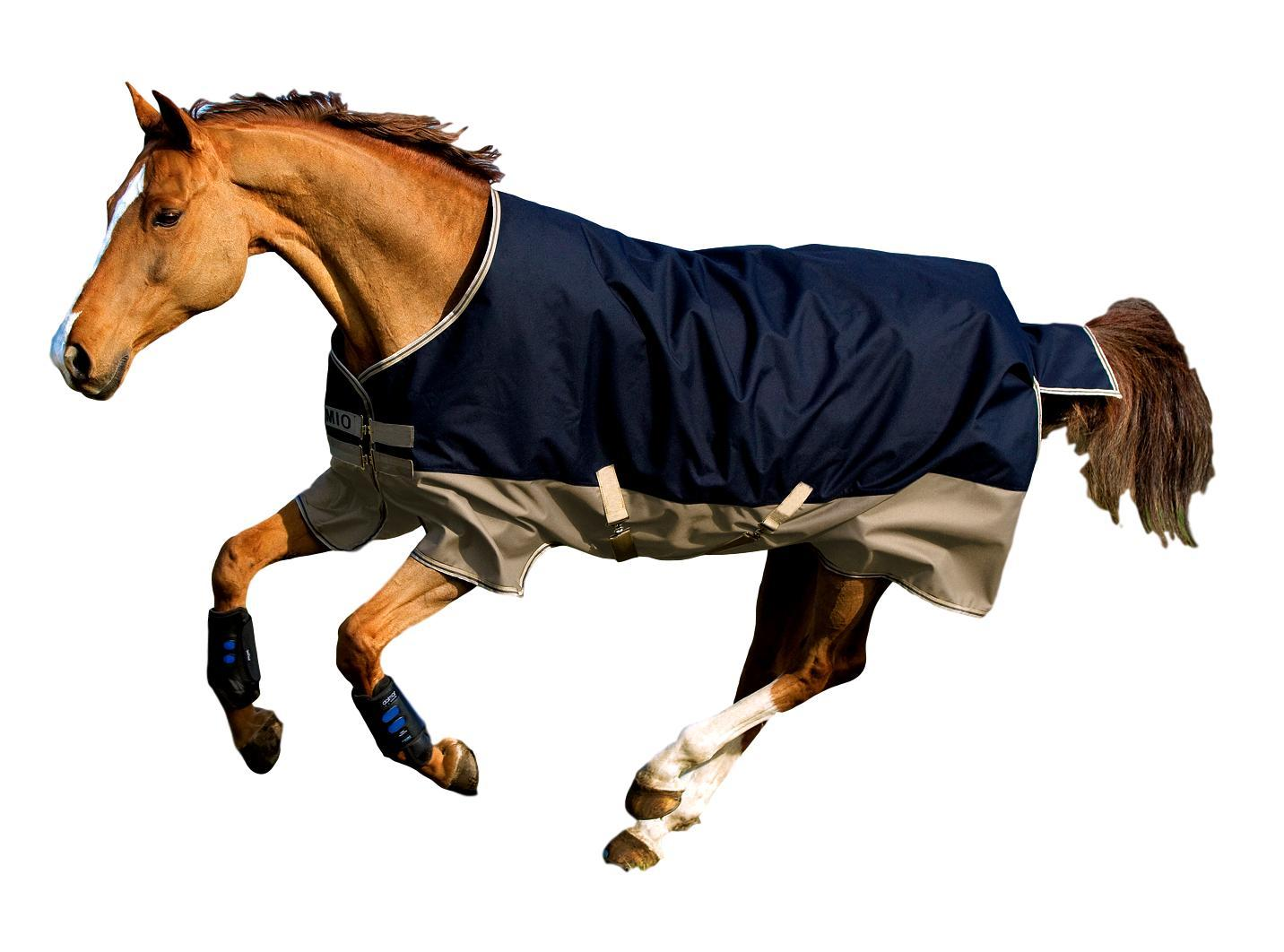 Horseware Ireland Mio 600D Turnout Blanket Medium 200g Fill with Lining Nylon Lining with 90cfd9