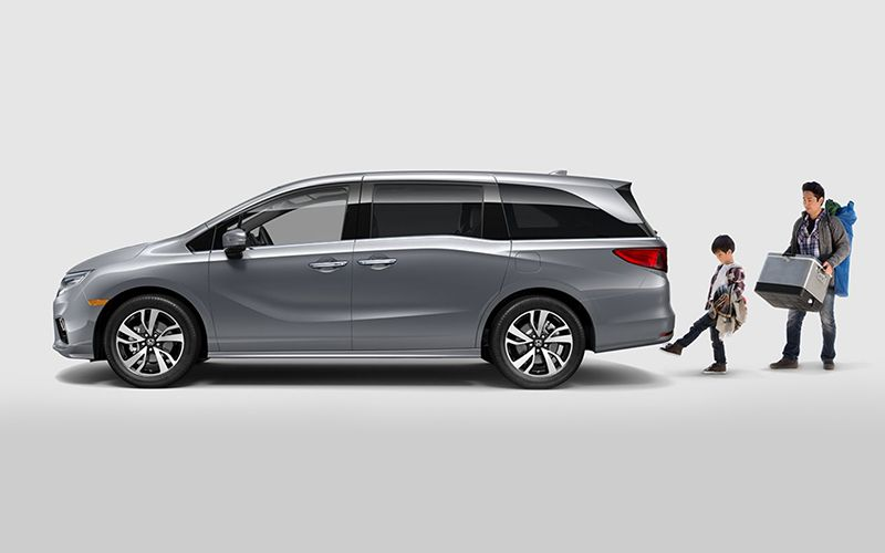 2019 Honda Odyssey Hands-Free Power Liftgate