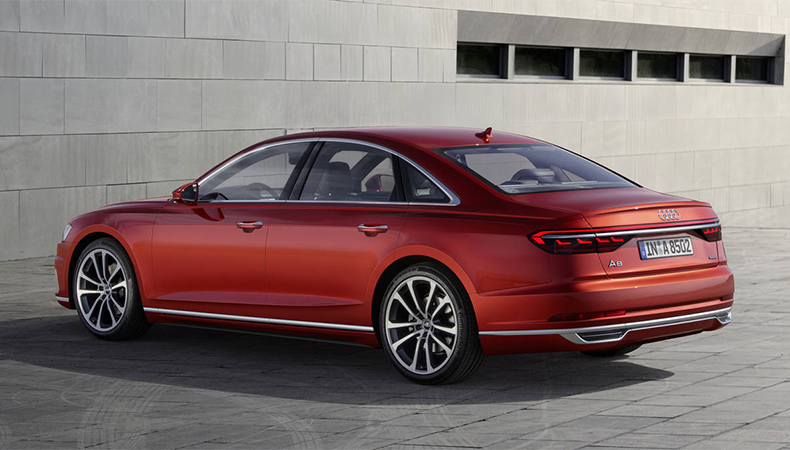 2019 Audi A8 Exterior Styling