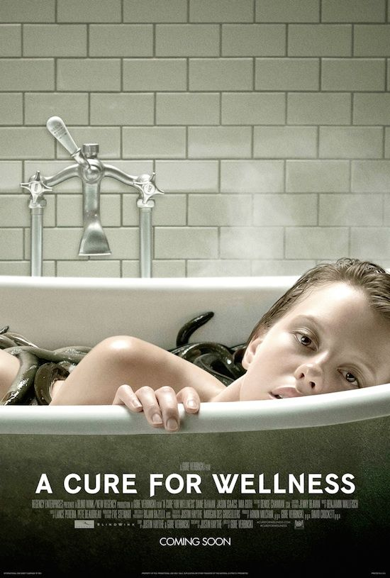 Poster A Cure For Wellness (2016) Full Hindi Movie Download Dual Audio 720p