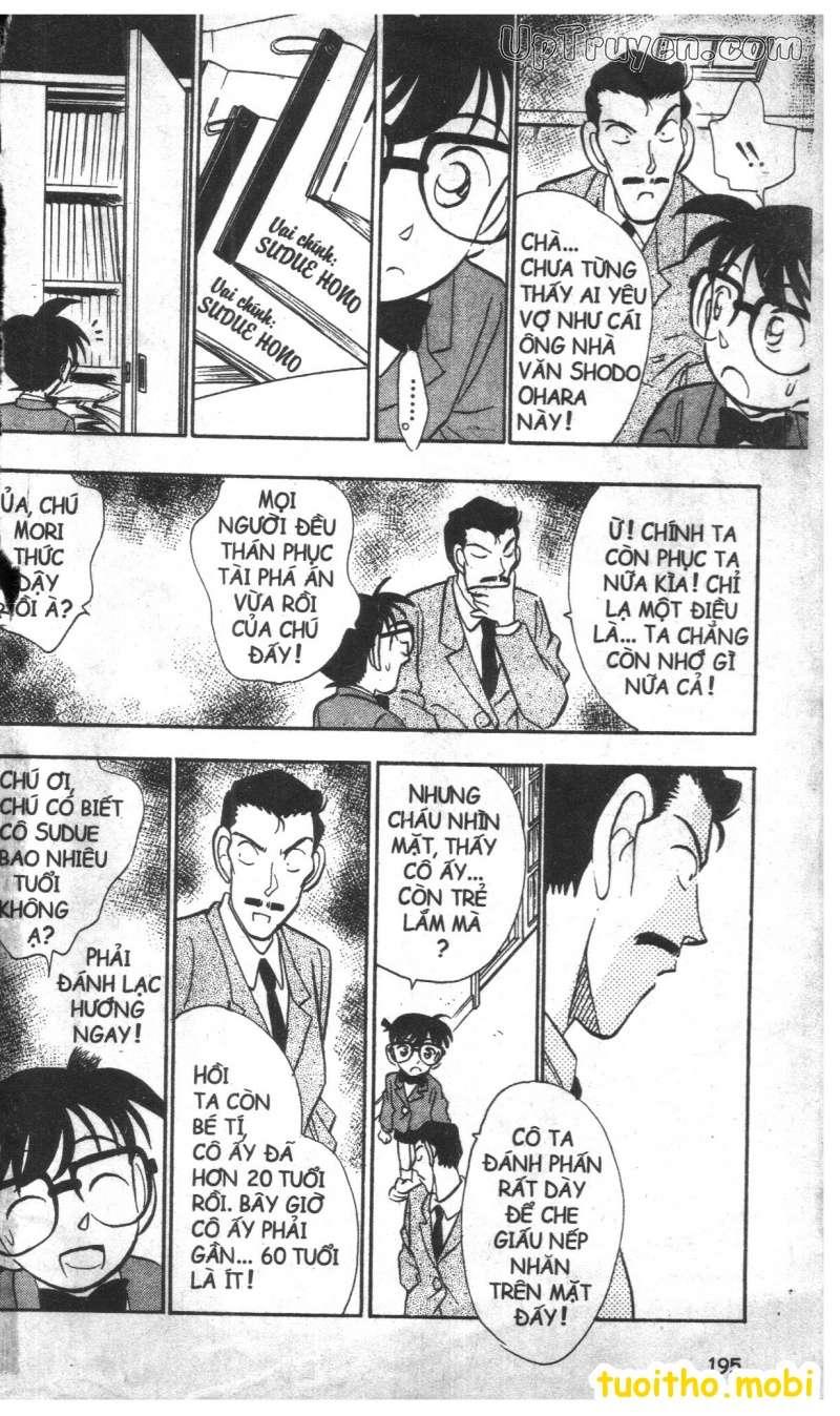 đọc truyện Conan bộ đặc biệt chap 27 trang 22