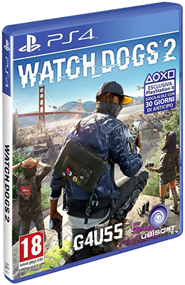 [PS4] Watch Dogs 2 (2016) - FULL ITA