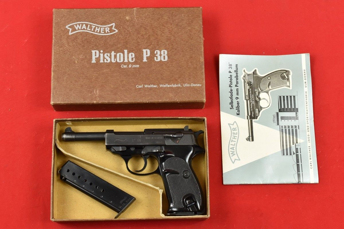 walther p38 100 JAHRE