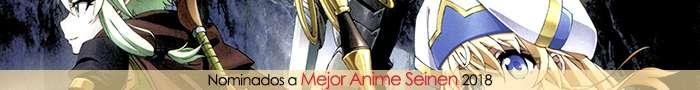 Nominados a Mejor Anime Seinen 2018