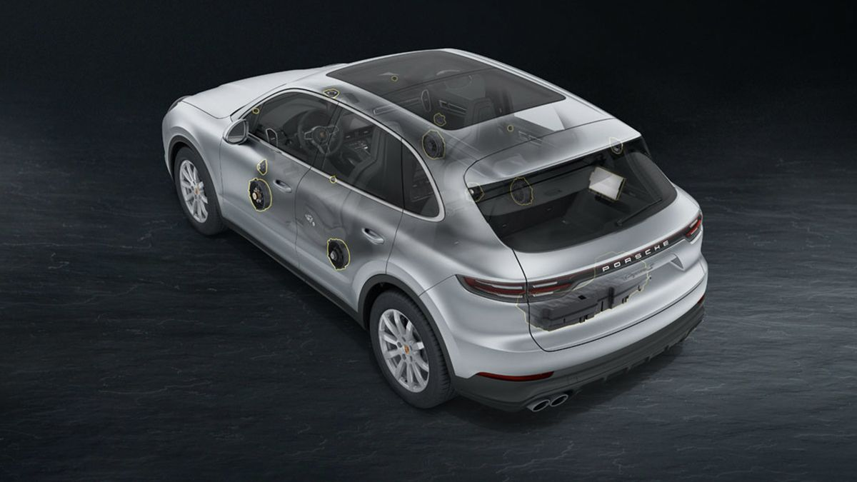 Porsche Cayenne Bose Surround Sound-System