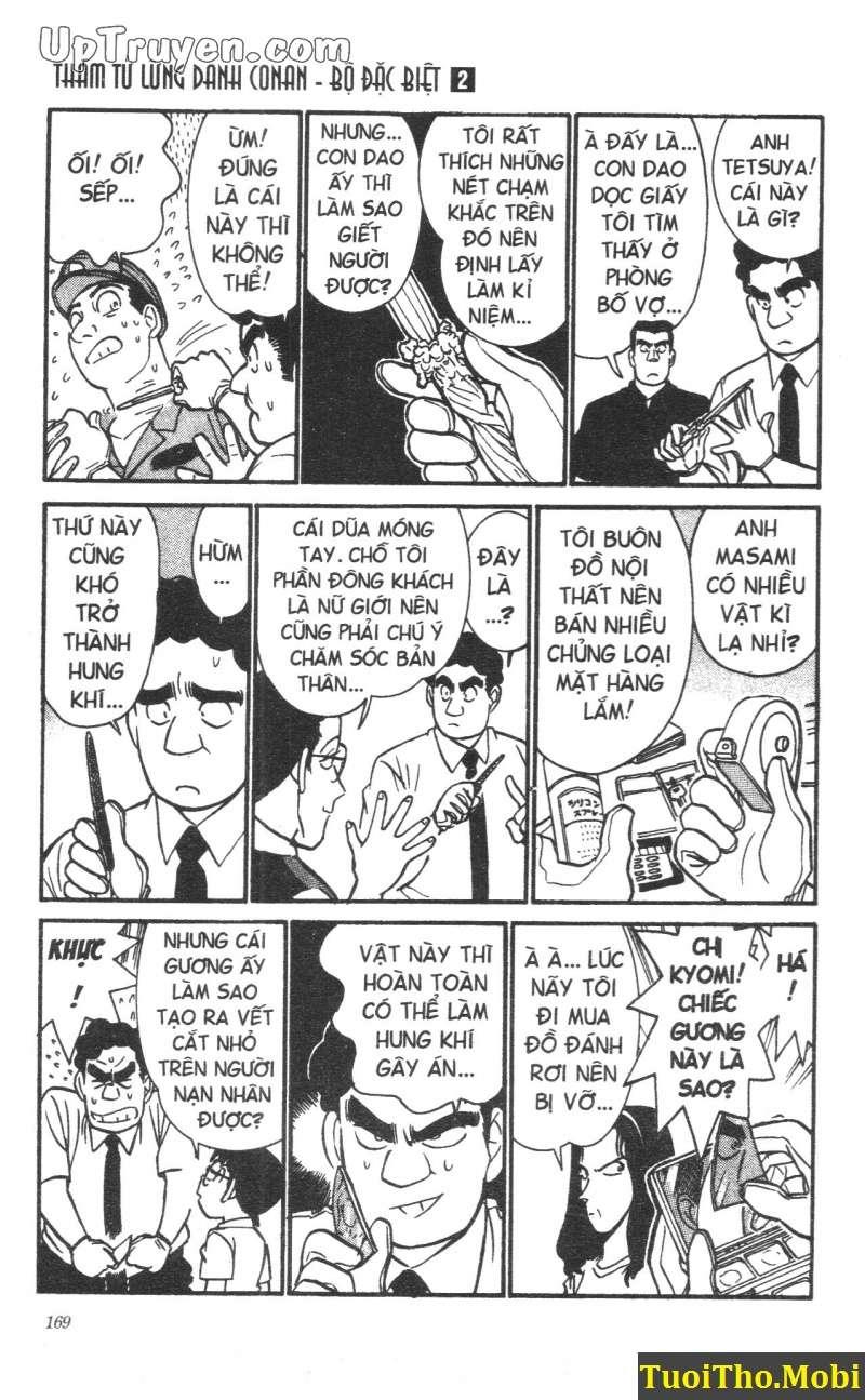 đọc truyện Conan bộ đặc biệt chap 17 trang 14