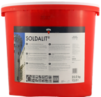 Keim Soldalit Fassadenfarbe 25kg weiss, silikatbasis