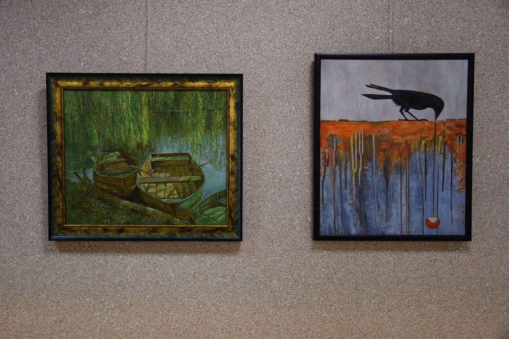 Wystawa obrazów Barbary Kujawy