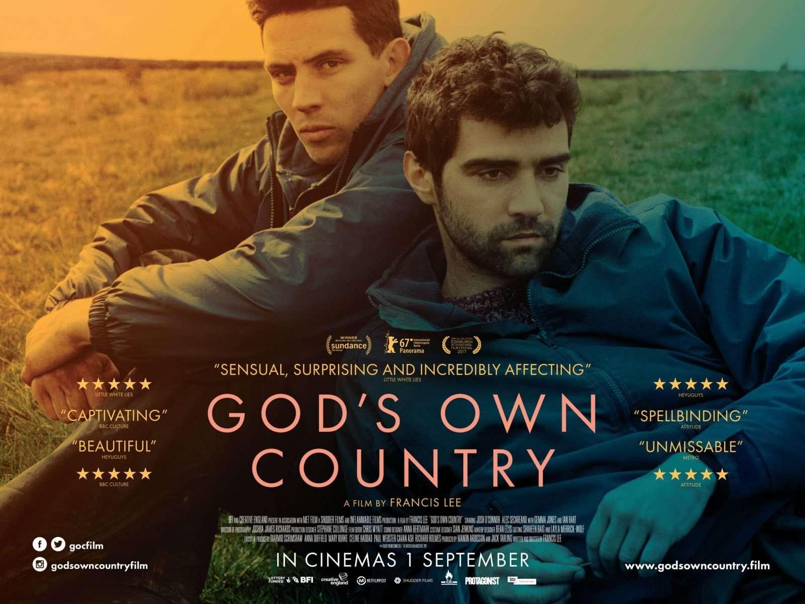 Του Θεού η Χώρα (God's Own Country) Quad Poster Πόστερ
