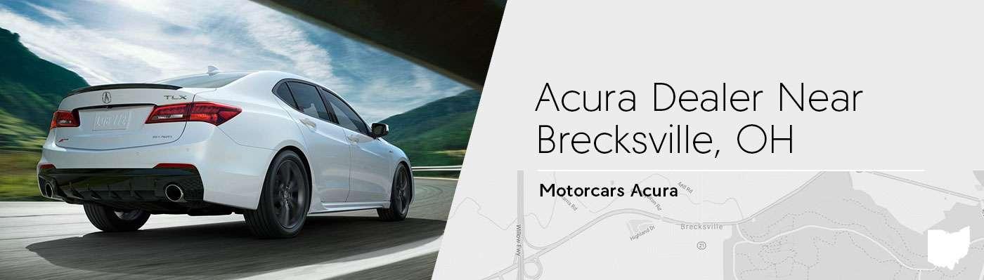 Motorcars Acura Serving Brecksville, OH