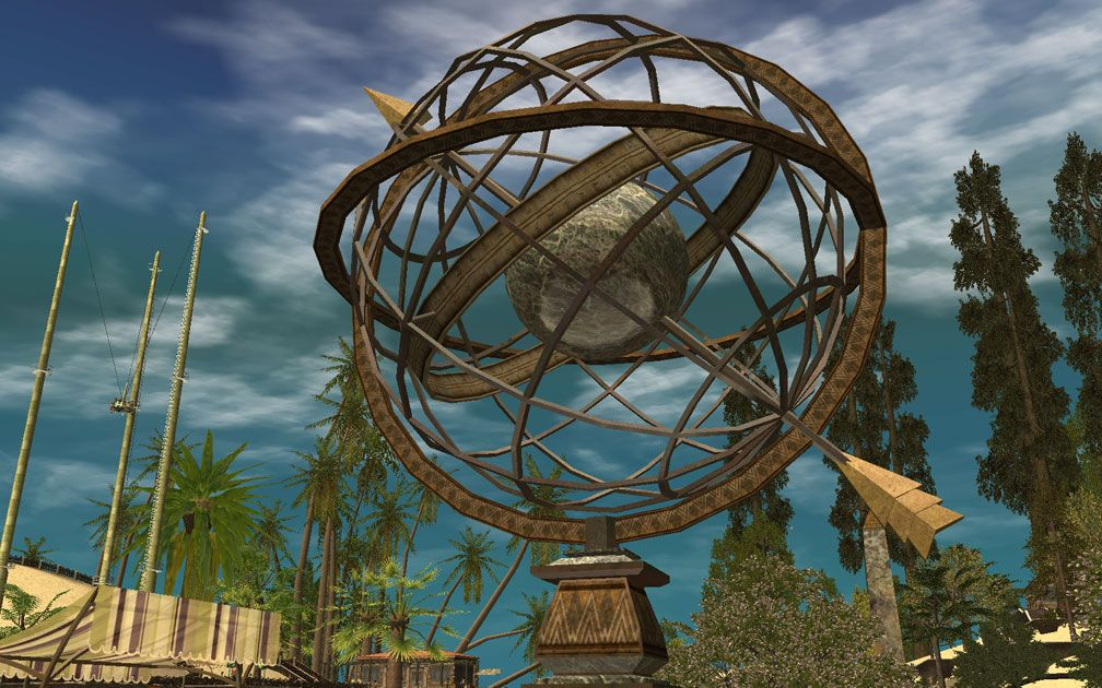 My Projects - CSO's I Have Imported, Landscaping and Park Grounds - Armillary Sphere Near Roadster-Rama, Image 01