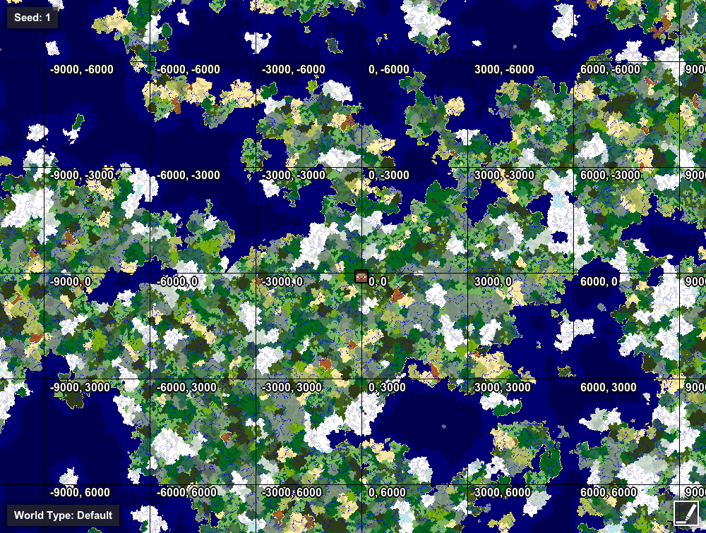 GeographiCraft - Stop chunk walls, control size and