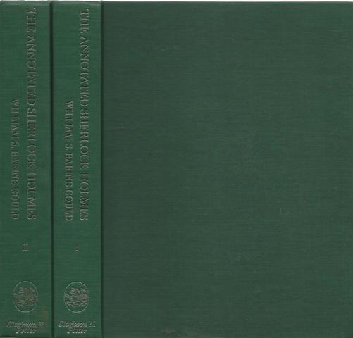 The Annotated Sherlock Holmes: The Four Novels and the Fifty-Six Short Stories Complete (2 Volume Set), Arthur Conan Doyle