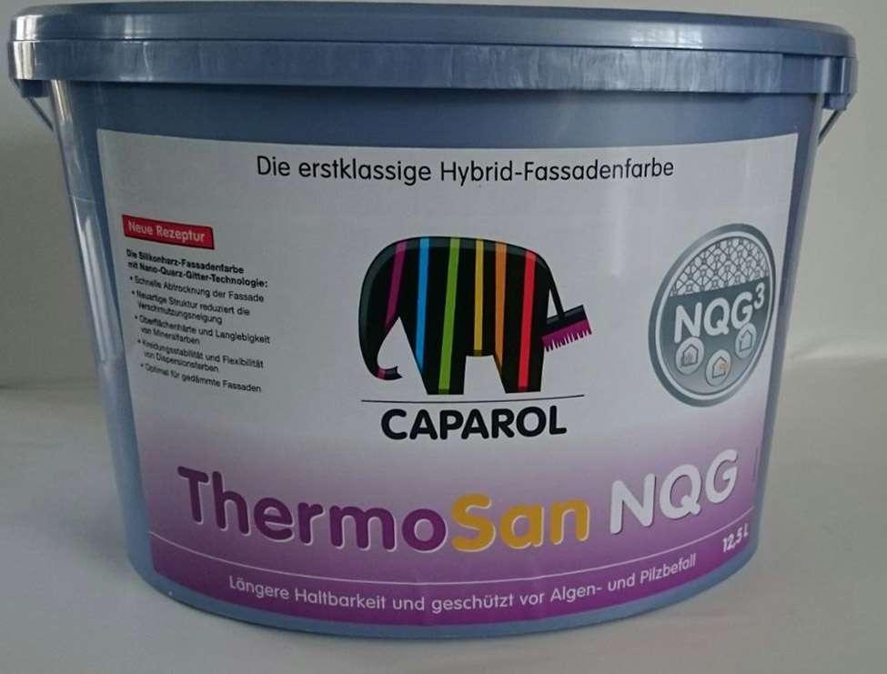 18 94 l caparol thermosan nqg 12 5 liter fassadenfarbe wunschfarbton ebay. Black Bedroom Furniture Sets. Home Design Ideas