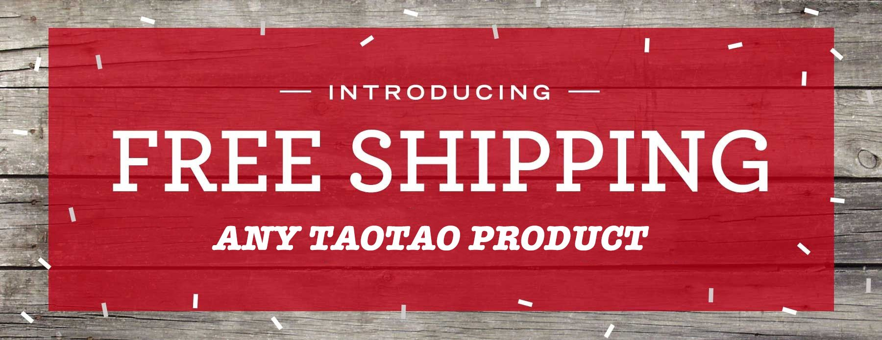 Free Shipping on all TaoTao products