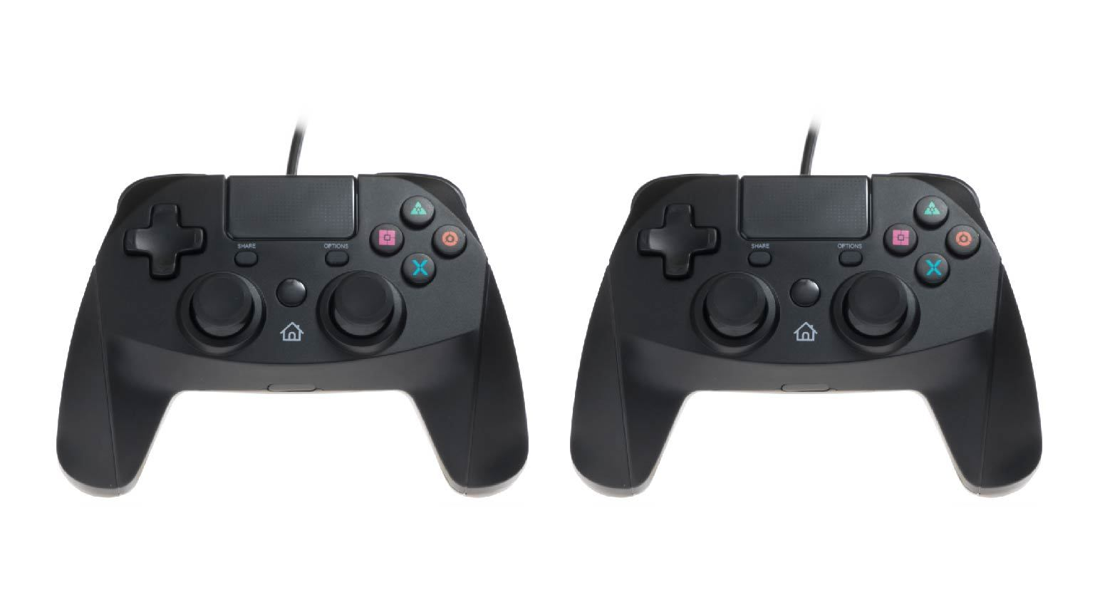 PACK of 2 Snakebyte Gamepad for Playstation 4 Wired PS4 Controller ...