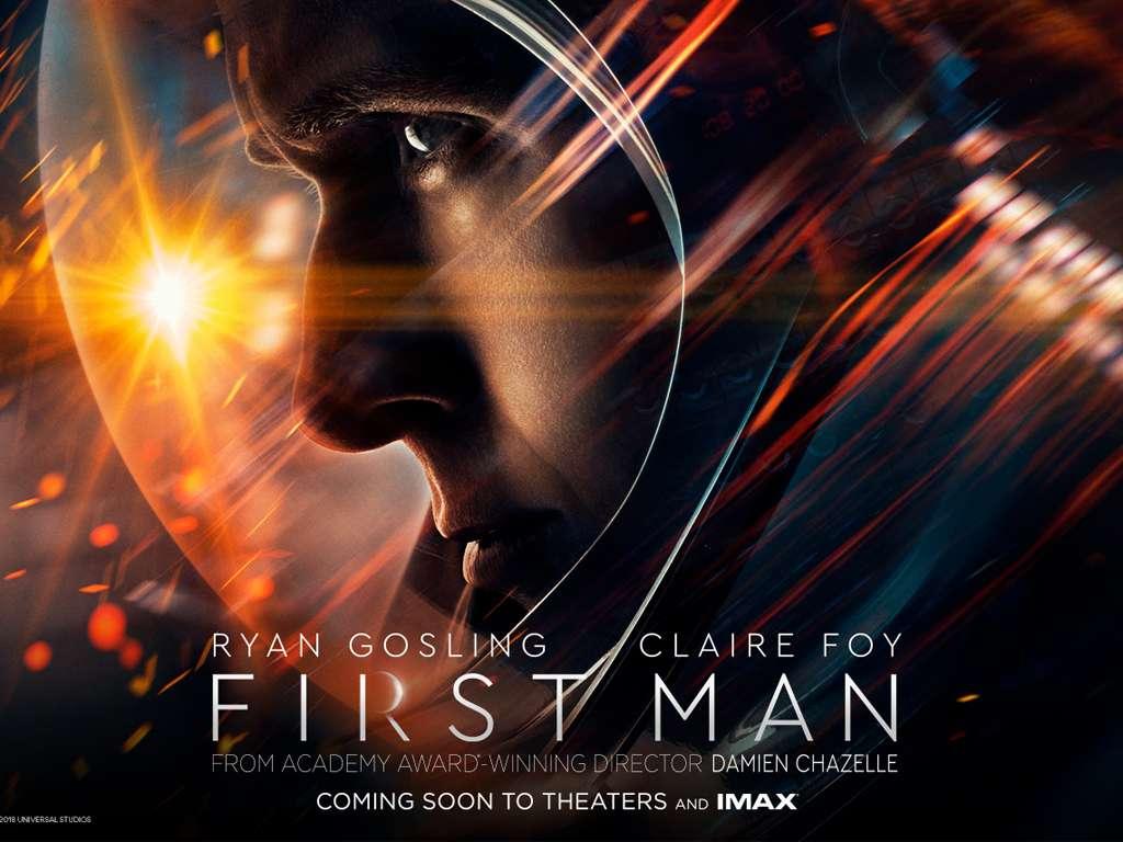 Ο Πρώτος Άνθρωπος (First Man) Quad Poster