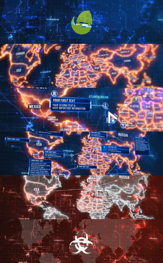 Free Download World Map - Donload Flex