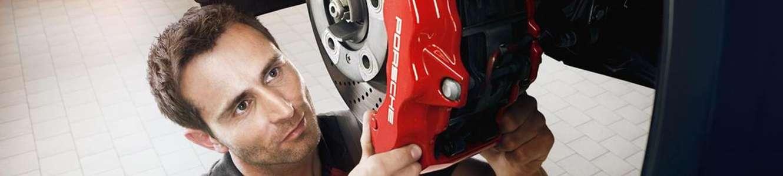 Porsche Technician Brake Repair Service