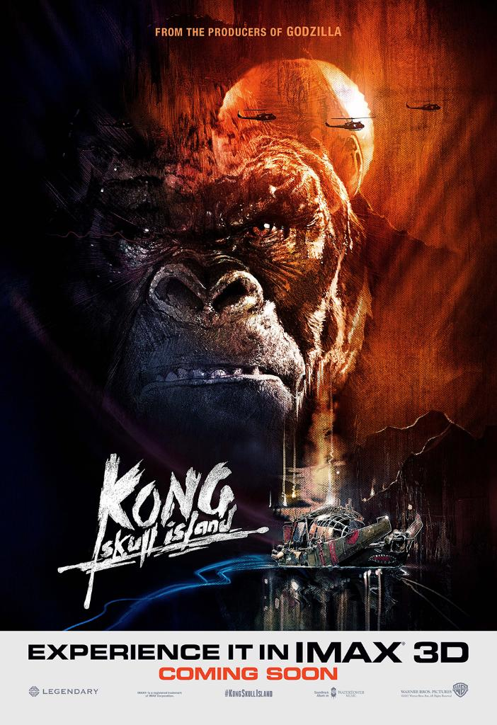 poster Kong Skull Island Full HD Movie Download Dual Audio in Hindi 720p