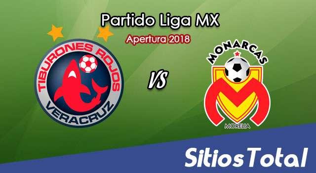 Ver Veracruz vs Monarcas Morelia en Vivo – Apertura 2018 de la Liga MX